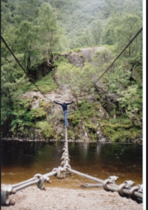 The Glen Wire Rope Bridge-Dangerous Bridge