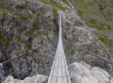 Trift Suspension Bridge-World's Scariest Bridges